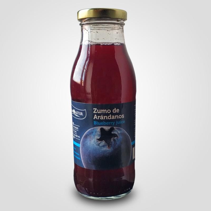 zumo arandanos