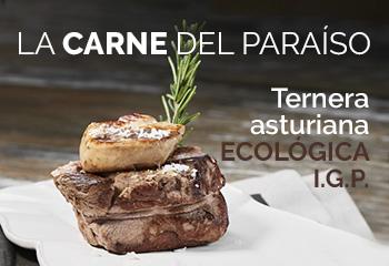 Carne de ternera asturiana de producción ecológica IGP